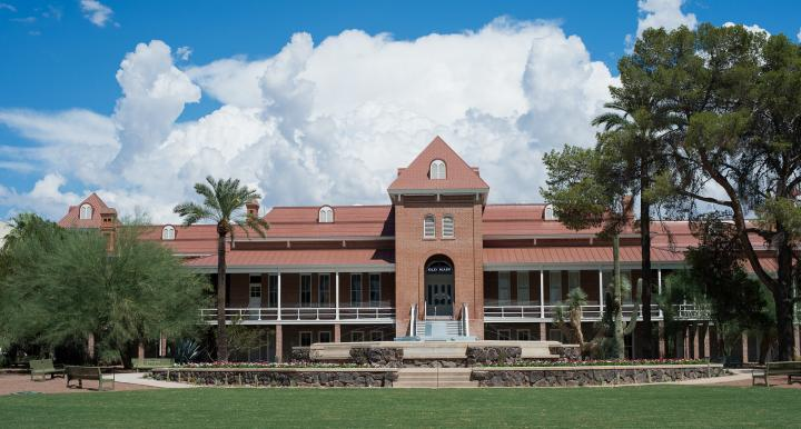 Old Main on the University of Arizona main campus